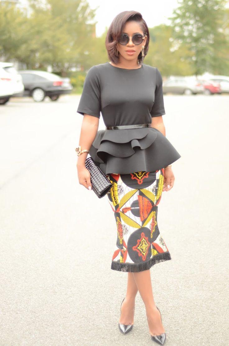 Avec elle, tout est class et élégance, même les looks casual. Elle s'appelle Karen, blogueuse d'origine ghanéenne vivant aux US (Woodbridge, VA) Karen s'habille toujours avec des looks très étudiés, ou se dégage une grande harmonie et un choix des accessoires parfaitement maîtrisés. Et comme elle aime aussi les imprimés africains, on apprécie encore plus. ...