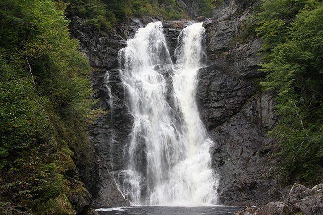 North River Falls, Cape Breton, Nova Scotia