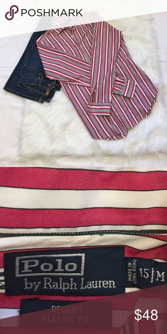 Polo by Ralph Lauren dress shirt🔵🔵 Stylish dress shirt by Ralph Lauren. Classic fit. Size is 15 M Polo by Ralph Lauren Shirts Dress Shirts