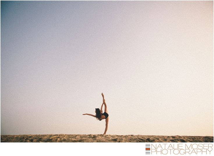 Dance Photography on the Beach.  Incredible extension and so pretty.  By Natalie Moser Photography