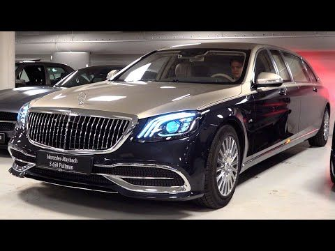 2020 Mercedes Maybach S650 Pullman Limited 1 Of 2 V12 Full Review Interior Exterior Security Youtube In 2020 Mercedes Maybach Maybach Mercedes