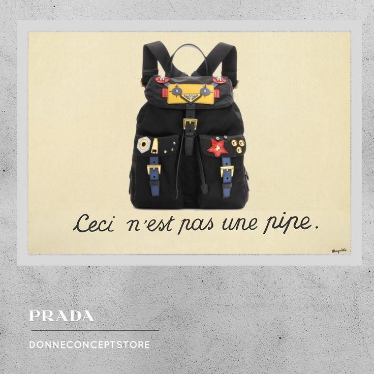 #robot #Backpack #PRADA #donneconceptstore #WorksOfArt #Magritte