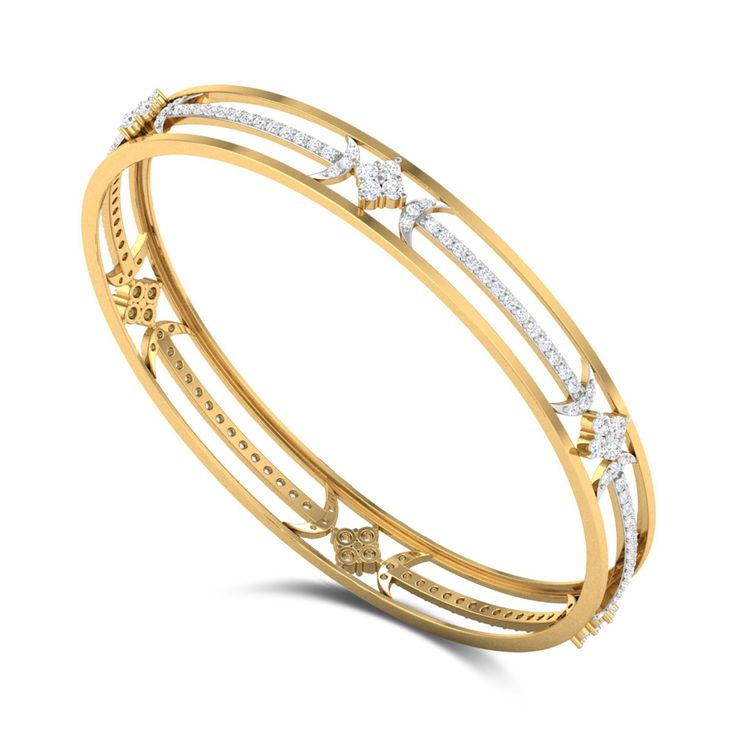 Ranunculus Diamond Bangle DJBB5073