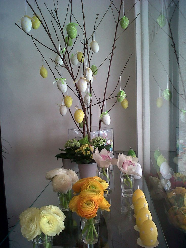 Montra de loja - Páscoa 2012