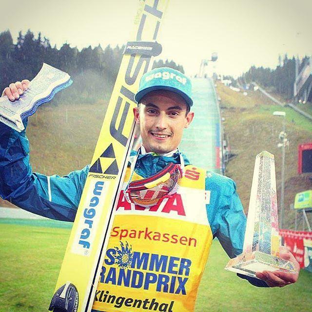 Miła, deszczowa niedziela  Dalekie skoki, dobre wyniki - to jest to co lubię  #klingenthal #winner #top #kocur #happy #ognia #wagraf #4F