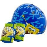 SpongeBob Child Pacific Nickelodeon Hardshell Helmet and Pads (Sports)  #Spongebob