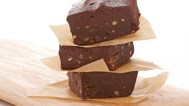 (gluten free) Raw Brownies Recipe (made with dates and avocados) @glv6703 ~ you should try making these!!!