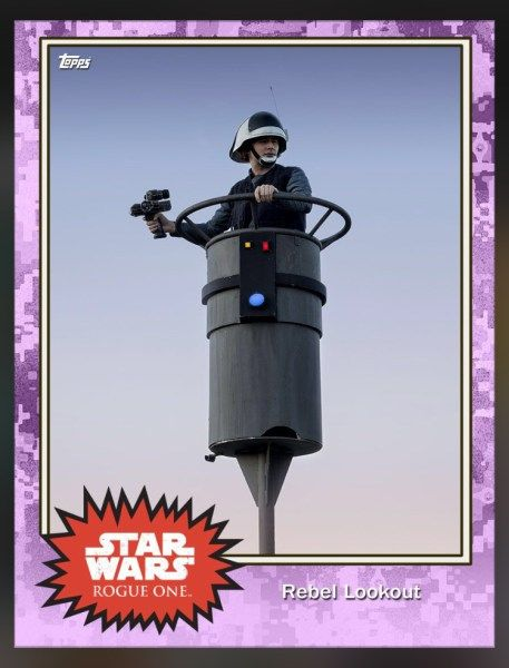 UPDATE 2! 26 New Rogue One Images Revealed via Topps Trading Cards + New Character Name! | Star Wars News Net