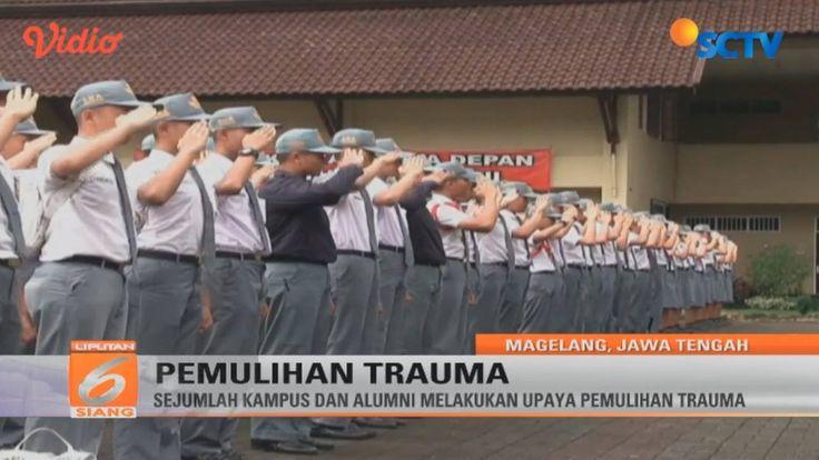 Sejumlah kampus & alumni SMA Taruna Nusantara melakukan pemulihan trauma pasca kasus pembunuhan di barak sekolah. #Liputan6SCTV