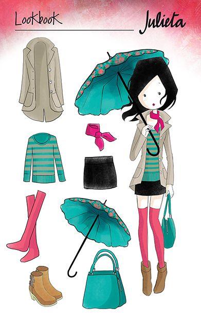 Día de lluvia | Julieta www.julieta.cl