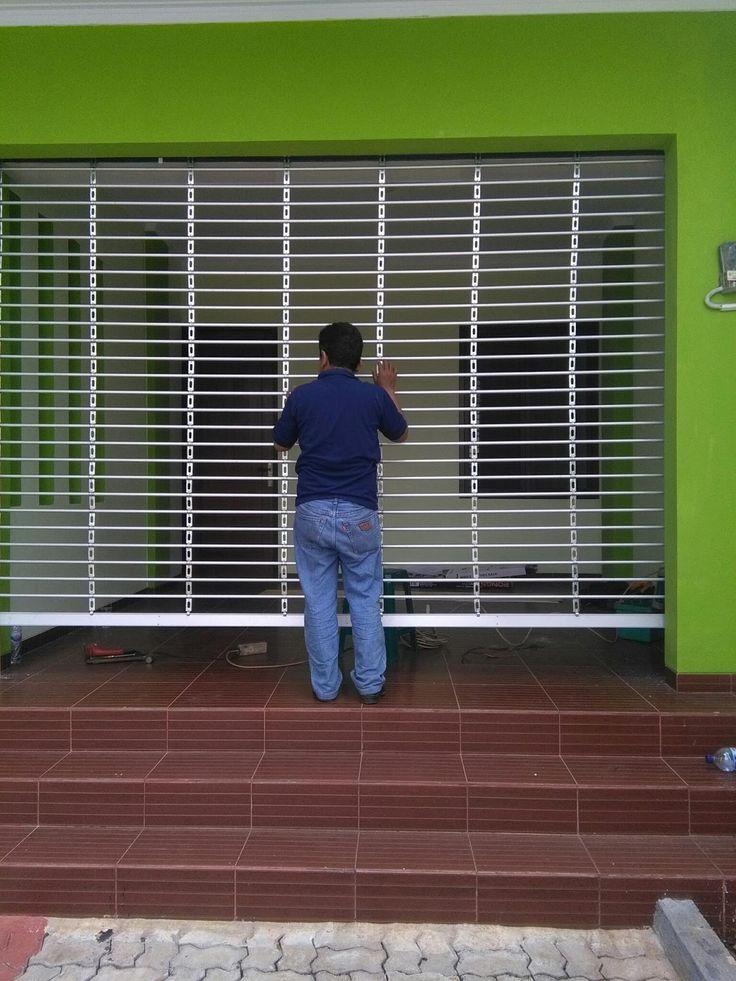 ZONA_TEKNIK Spesialist service dan pasang baru Rolling Door, Folding Gate, Harmonika, Rolling Grille, Alumunium, Pa...