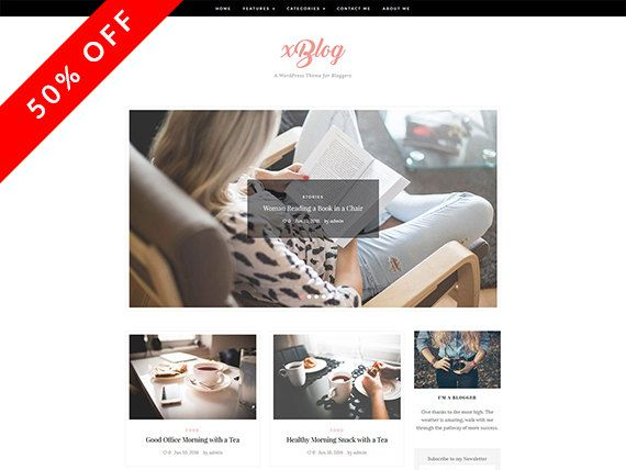 XBlog - WordPress Theme - WordPress Blog Theme - Template WordPress - WordPress sensible - WordPress Blog - tema de WordPress Blog