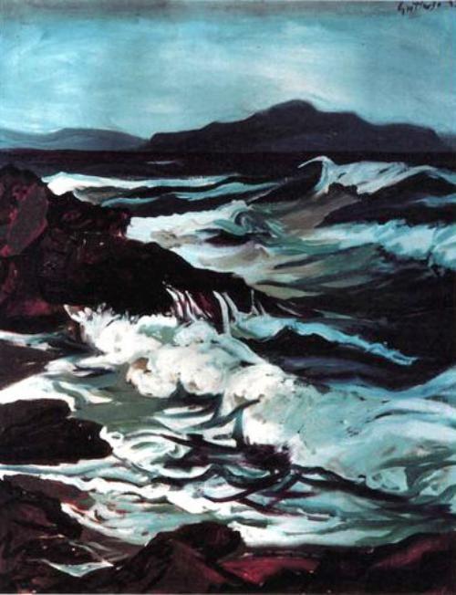 Renato Guttuso - Marina dell' Aspra (1949)