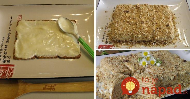 Fantastická orechová torta, ktorú hravo zvládnete aj vtedy, keď sa vám skutočne nič nechce.