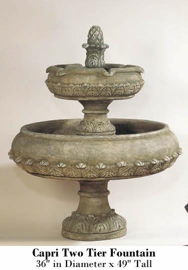 Capri Two Tier Fountain