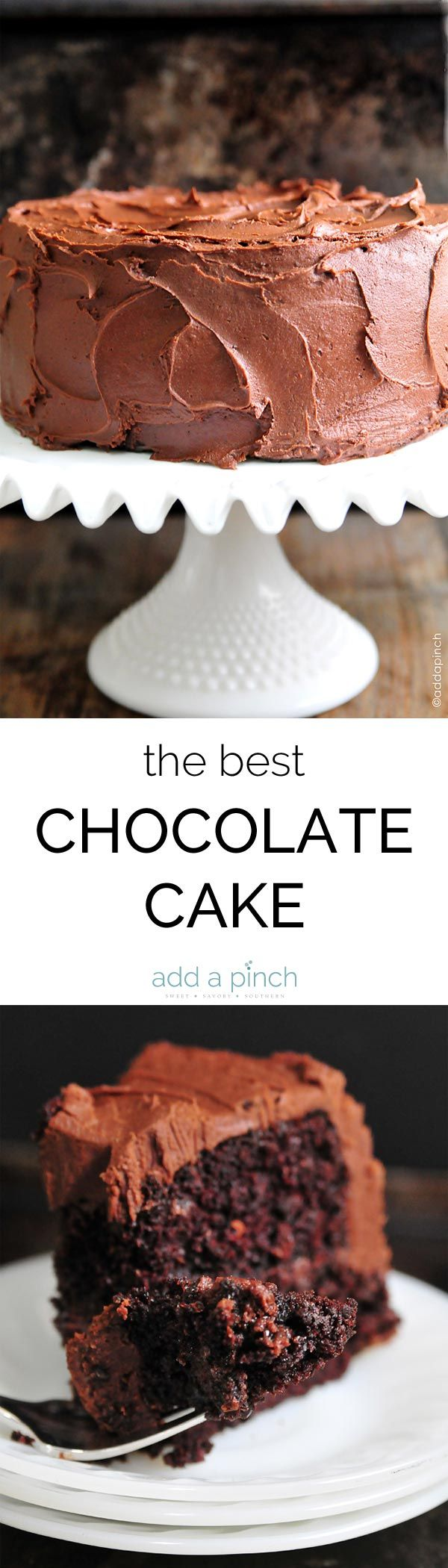 The Best Chocolate Cake Recipe Ever. The Best Chocolate Cake recipe with…