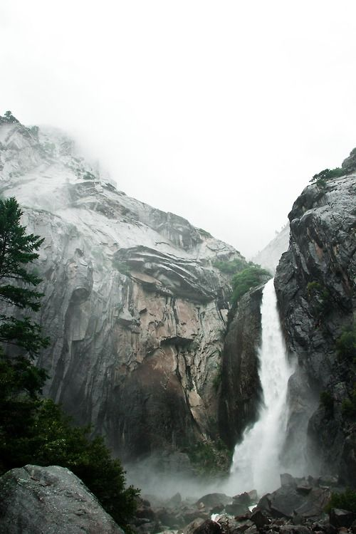 #nature #mountains #landscapes #hills #waterfall #water