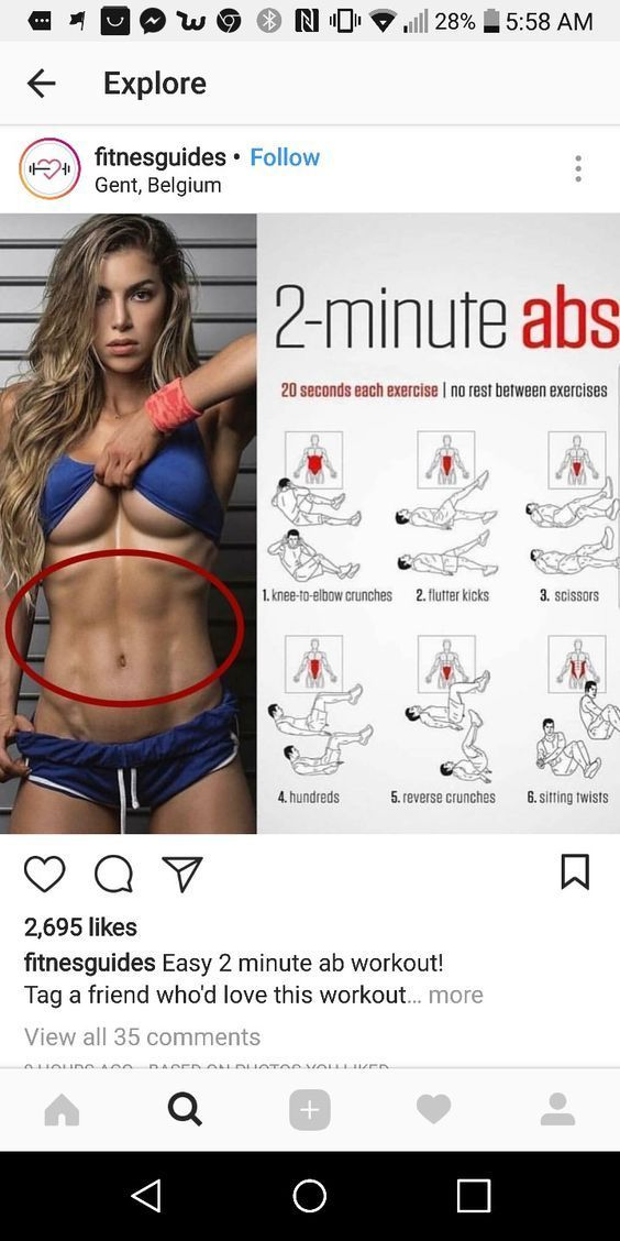 How to Lose Belly Fat with 2-Minute Ab Workout