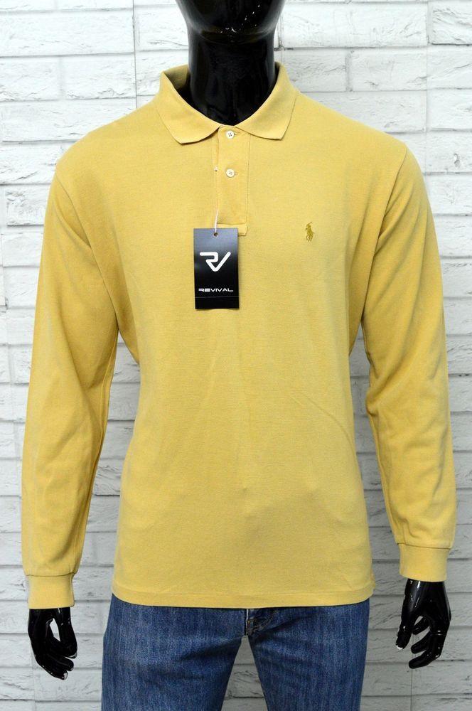 reputable site e1f89 83220 Polo RALPH LAUREN Uomo Taglia Size XL Maglia Shirt Maglietta ...
