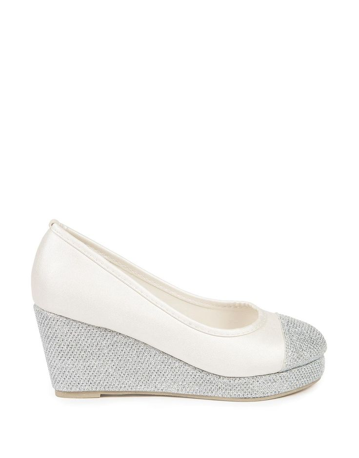 Glam Sparkle Wedges