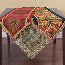 Embellished Table Runners