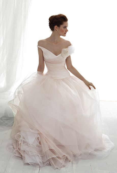 Valentine's Day Inspired Wedding Gowns: From Blush to Glam | Team Wedding Blog