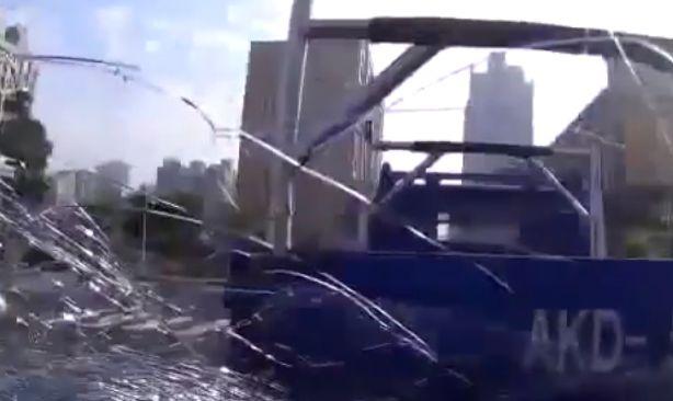 World's Worst Driver caught on Dashcam