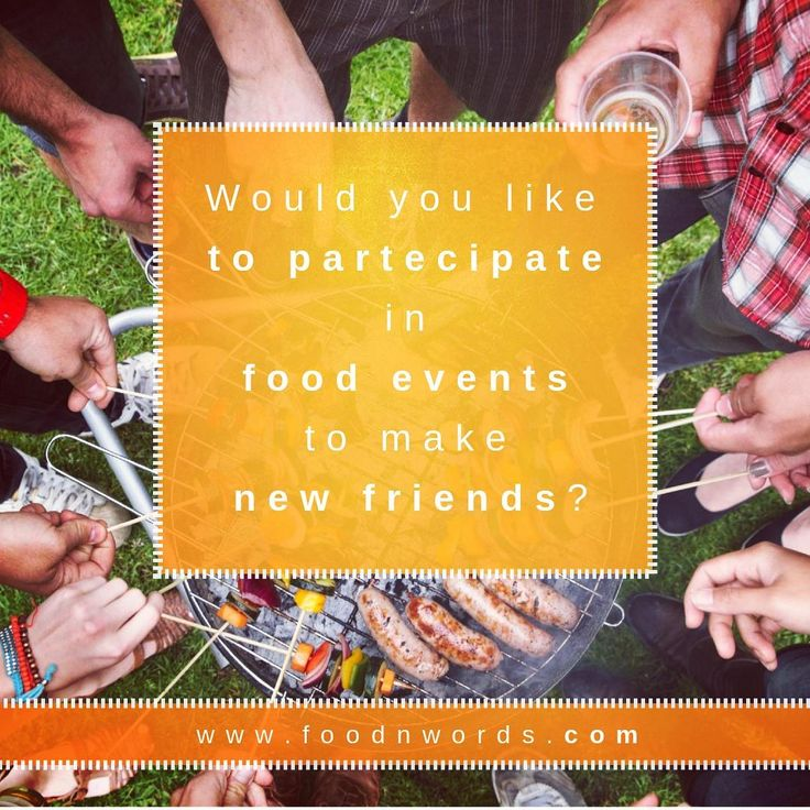 [IT/EN] Ti piacerebbe partecipare a degli eventi culinari per fare nuove amicizie? --- Would you like to participate in food events to make new friends? #foodnwordscom #cibo #food #amici #friends #nuoviamici #newfriends #barbeque #bbq #giardino #garden #grigliata #grill #estate #summer