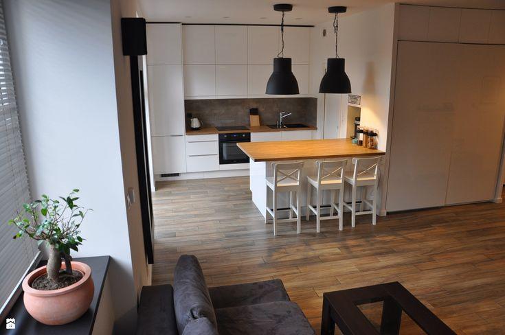 kuchnia + salon - zdjęcie od olafredowicz - Kuchnia - Styl Skandynawski - olafredowicz