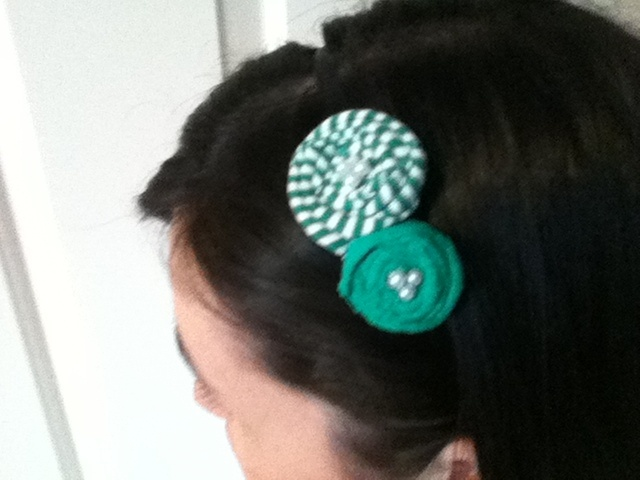 Green with envy for this Bloomer headband!