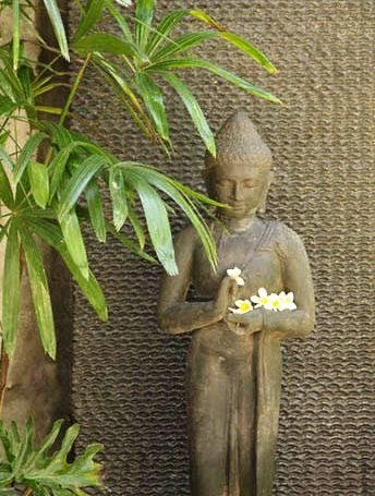 Balinese Buddha Garden Statue Measures 120cm X 30cm X 30cm  Www.balimystique.com.