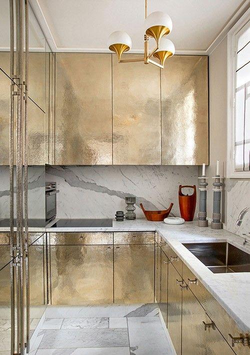 Copper/Brass kitchen.... fantastic!!