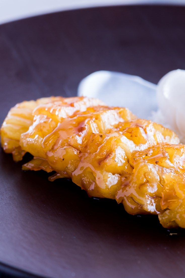 Graham Hornigold's sous vide recipe combines rum-poached pineapple and a zesty lime and coconut sorbet in a fantastic tropical dessert.