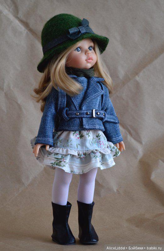 Комплект одежды для девочек от Паола Рейна, на этот раз, с рюкзаком / Одежда и обувь для кукол своими руками / Бэйбики. Куклы фото. Одежда для кукол