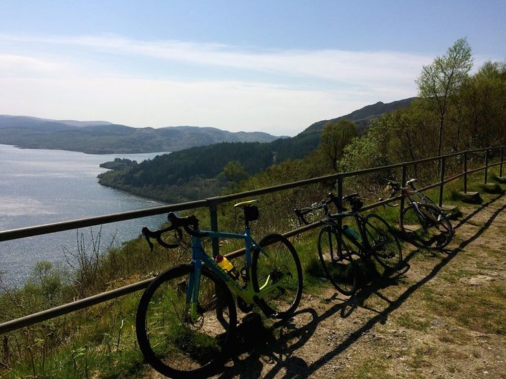 Tighnabruaich view point, rest stop