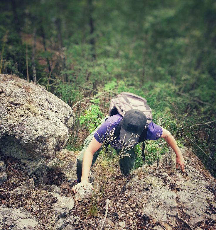 A climb up the mountain