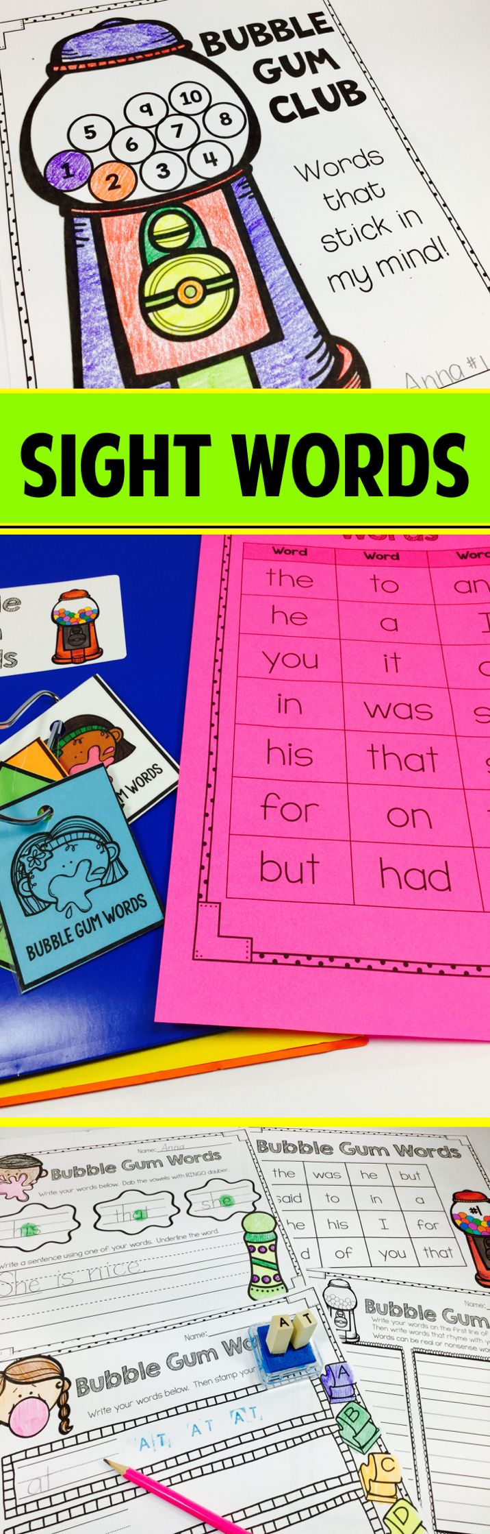 Structured sight word program - students are successful because this program is structured, students have achievable goals, and parent involvement is encouraged. paid