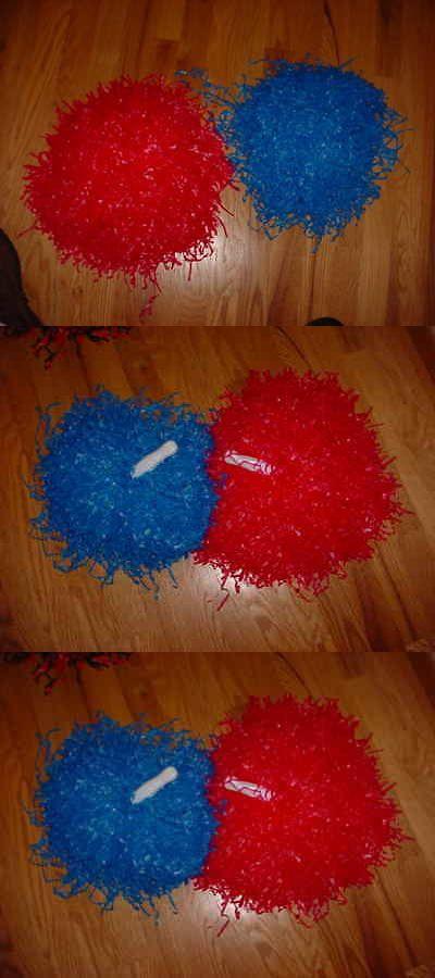 1acf3872bf2 Cheerleading 66832  2 Full 10 Blue And Red Cheerleader Pom Pon Poms Costume  Football Lot B -  BUY IT NOW ONLY   12.95 on  eBay  cheerleading    cheerleader .