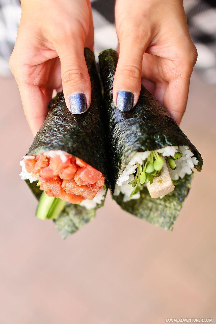 Temakira Hand Rolls + Best Places to Eat in Irvine CA #visitcalifornia #irvine #orangecounty #restaurants #california // Local Adventurer