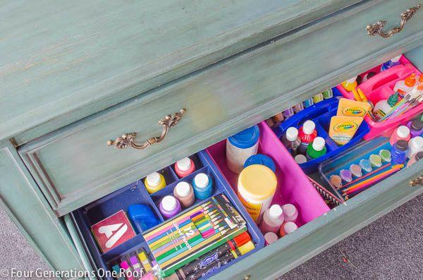 Get your kids organized for back to school : Organized kids snacks #backtoschool