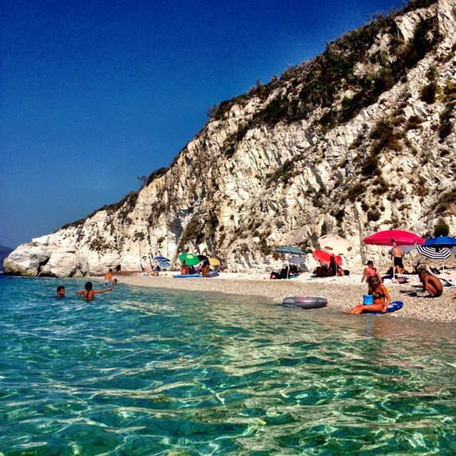 #Italy #travel #tuscany  #beach #elba Spiaggia di Capo Bianco all'isola d'Elba