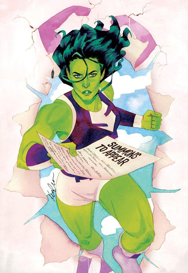http://kevinwada.deviantart.com/art/She-Hulk-Issue-6-481872699