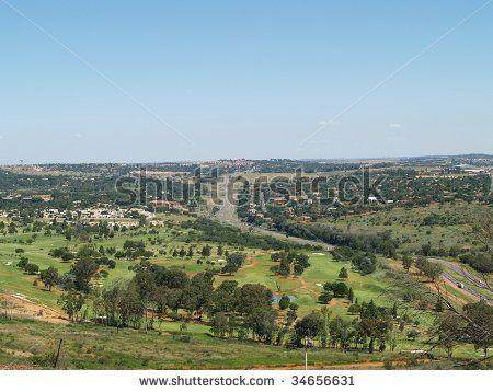 Scenic View over Pretoria