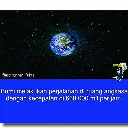 provocative-planet-pics-please.tumblr.com Bumi melakukan perjalanan di ruang angkasa dengan kecepatan 660000 mil per jam #nasa #galaxy #planets #bimasakti #astronomy #unik #bumi #earth #hubble #space #solarsystem #star #sun #planespace #aneh #fakta #ilmuwan #Indonesian by evan_nas2003 https://www.instagram.com/p/BE5nLcsxWBz/