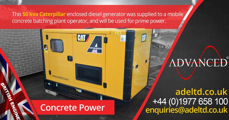 Concrete Power  This 50 kVA Caterpillar enclosed diesel generator was supplied to a mobile concrete batching plant operator and will be used for prime power.  Visit  for  Diesel Generators, Acoustic Enclosures, Modular Switchgear Buildings, Bulk Fuel Storage Tanks & much more!   Tel: +44 (0)1977 658 100 Email: enquiries@buff.ly/2hIDOM2  #DieselGenerator #FridayFeeling #Friyay #UK #farmin…