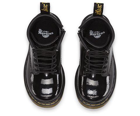 Dr Martens Brooklee 15373003 Patent Black Baby Toddler Shoes