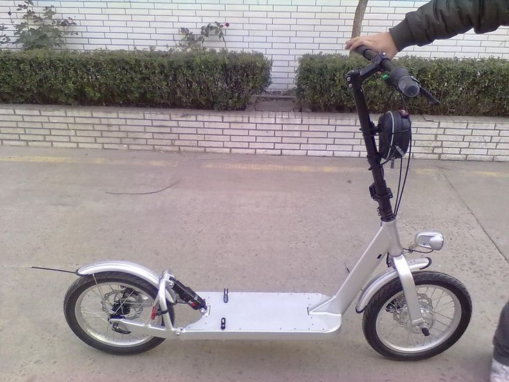 Easybike (from the scooter-graveyard)