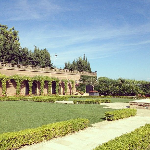Castello Monaci landscaped gardens, perfect for an outdoor wedding reception IItaly www.alwaysandri.co.uk