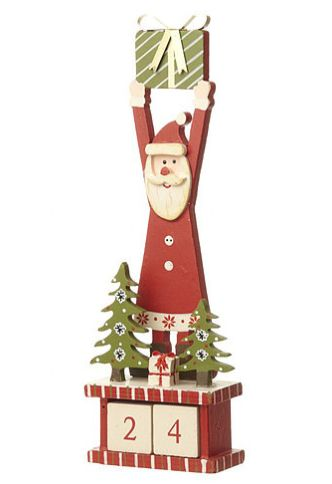 Enchanting Home Decor | Santa Calendar