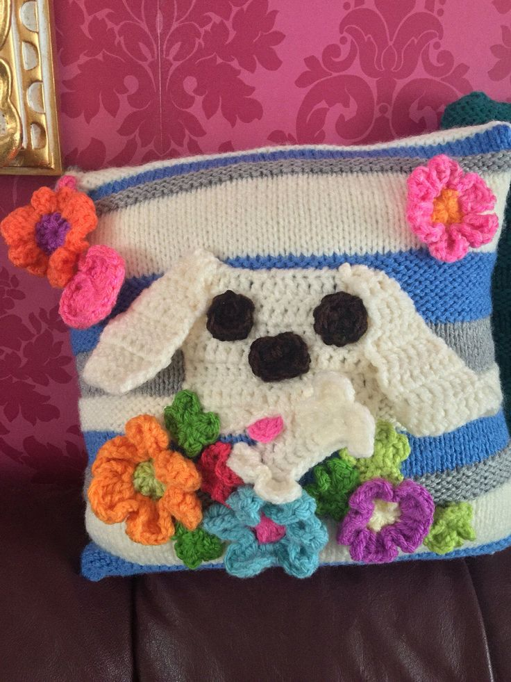 A personal favourite from my Etsy shop https://www.etsy.com/uk/listing/503206230/hand-made-knitted-cushion-couch-pillow